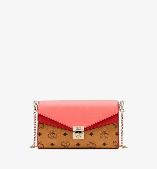 Millie Crossbody-Tasche aus Colorblock-Leder
