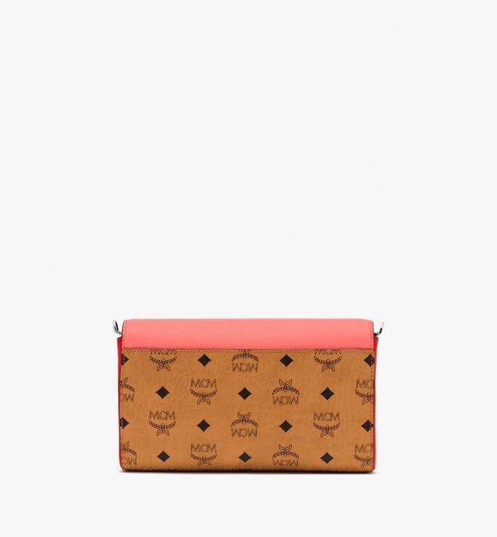 MCM Millie Crossbody-Tasche aus Colorblock-Leder Pink MYZ9AME80O3001 Alternate View 2