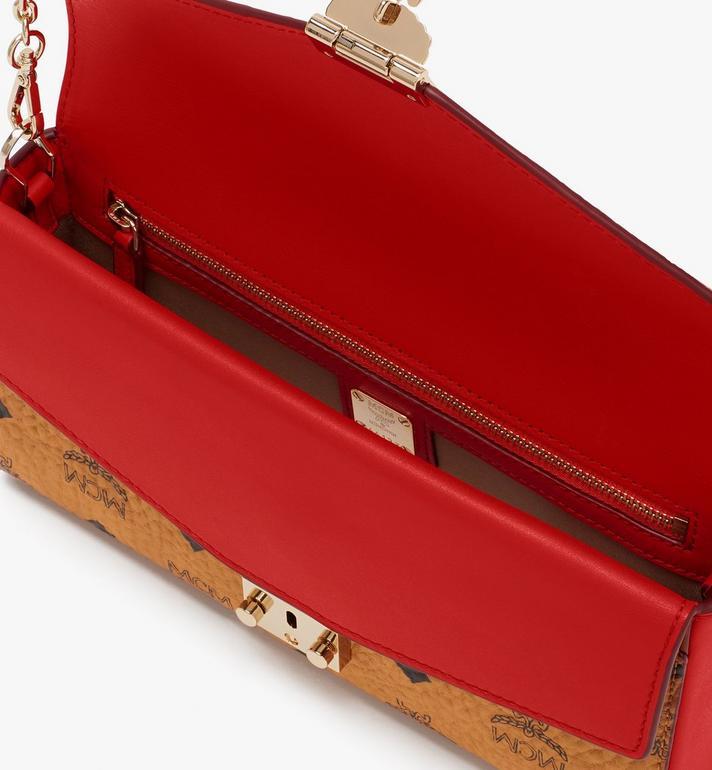 MCM Millie Crossbody-Tasche aus Colorblock-Leder Pink MYZ9AME80O3001 Alternate View 3