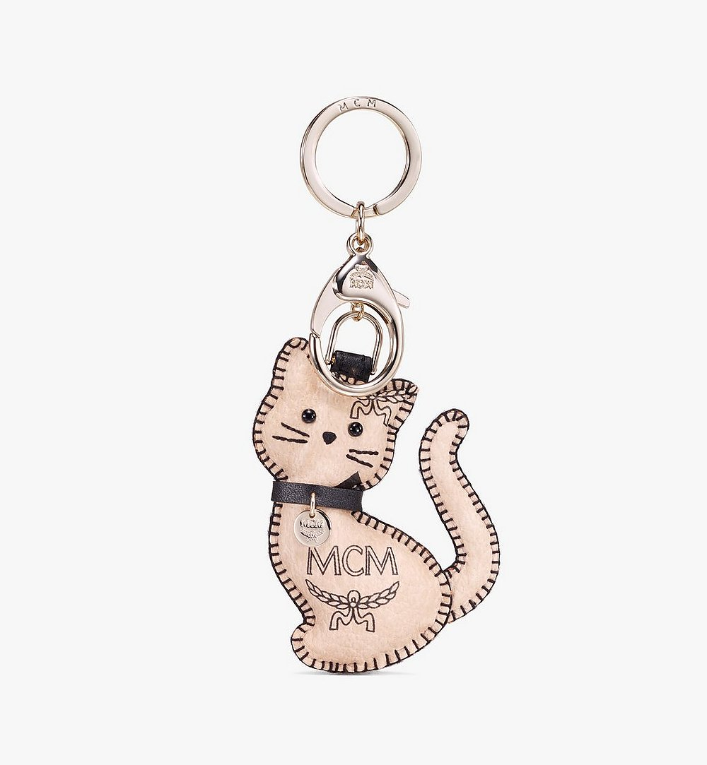 MCM 2D Cat Charm Beige MYZ9AXL70IG001 Alternate View 1