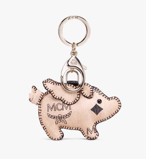 2D Pig Charm