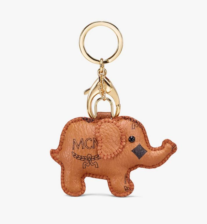MCM 2D Elephant Charm Cognac MYZ9AXL73CO001 Alternate View 2