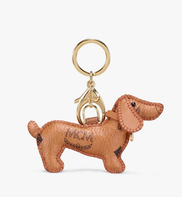 MCM 2D Dog Charm Cognac MYZ9AXL74CO001 Alternate View 2