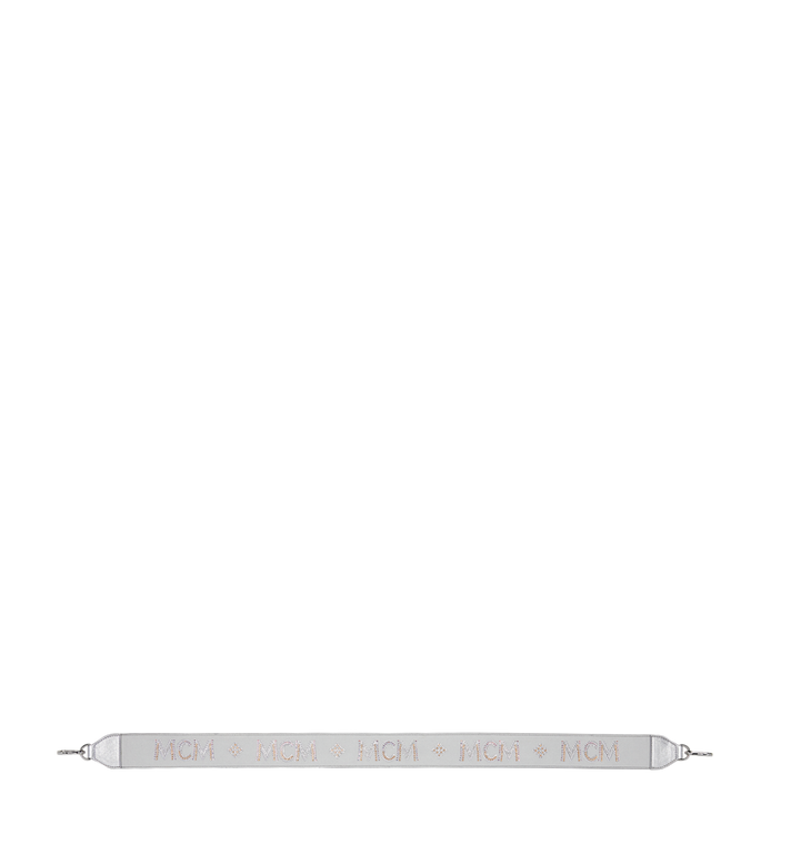 MCM Shoulder Strap in Mosaic Crystal Silver MYZ9SBN02SB001 Alternate View 3