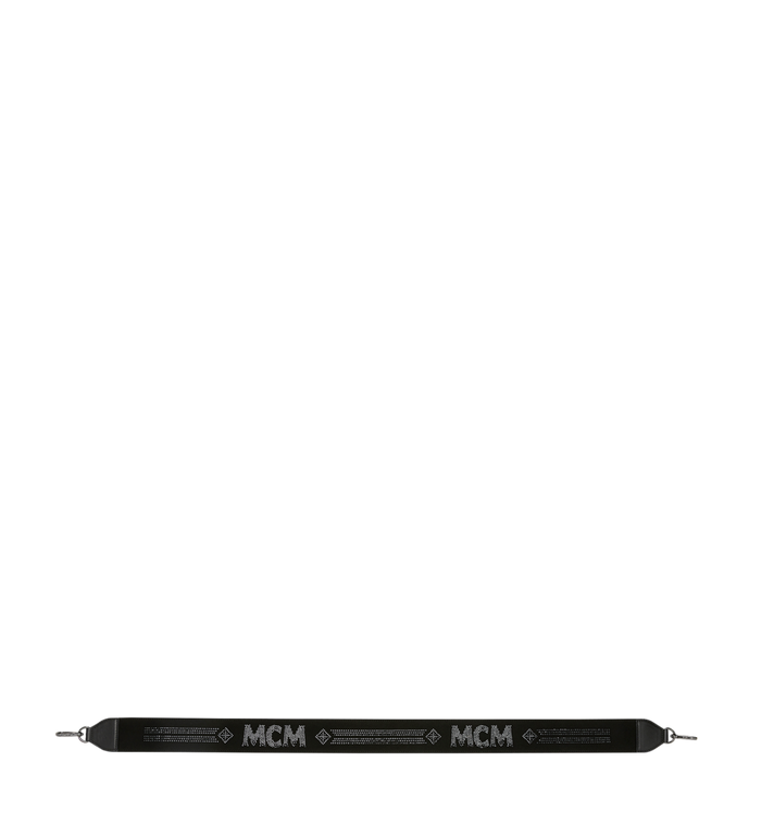 MCM Shoulder Strap in Mosaic Crystal Black MYZ9SBN03BK001 Alternate View 3