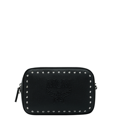 Chansell Kameratasche aus Studded Outline Leder