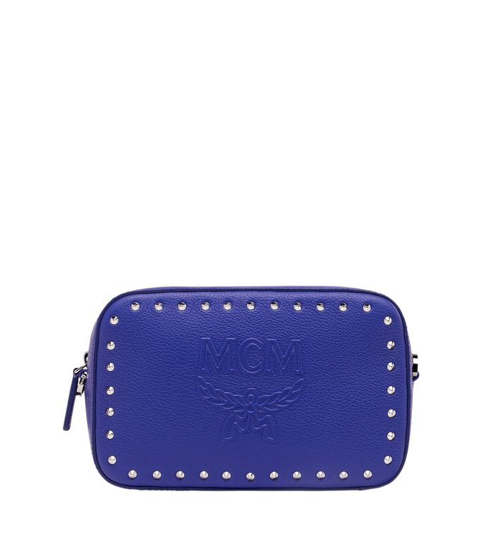 MCM Chanswell Camera Bag in Studded Outline Leather Alternate View