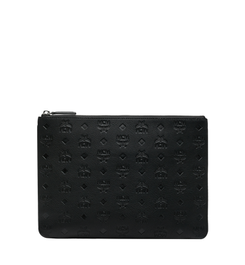 MCM Crossbody Pouch in Monogram Leather AlternateView