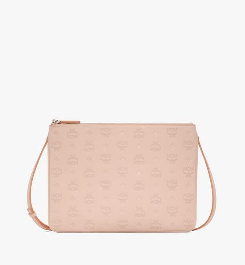 Crossbody Pouch in Monogram Leather