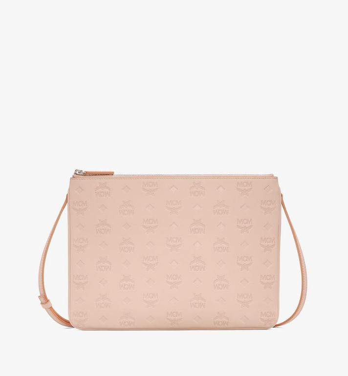 MCM Crossbody Pouch in Monogram Leather Alternate View
