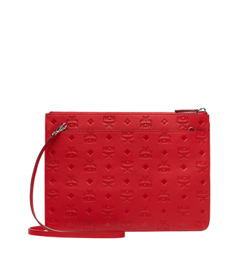 MCM Crossbody Pouch in Monogram Leather Alternate View 3