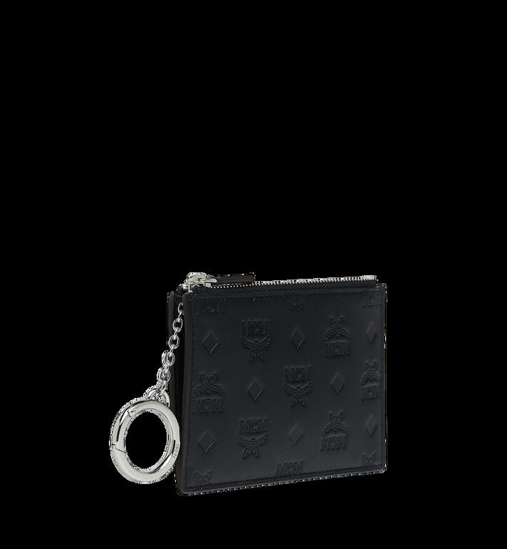 MCM Key Pouch in Monogram Leather MYZ9SKM44BK001 AlternateView2