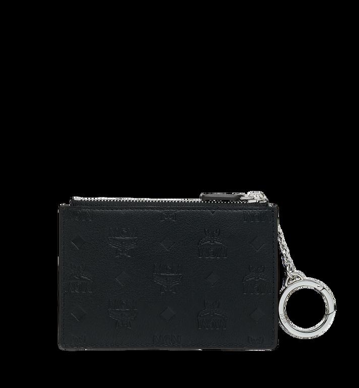 MCM Key Pouch in Monogram Leather MYZ9SKM44BK001 AlternateView3