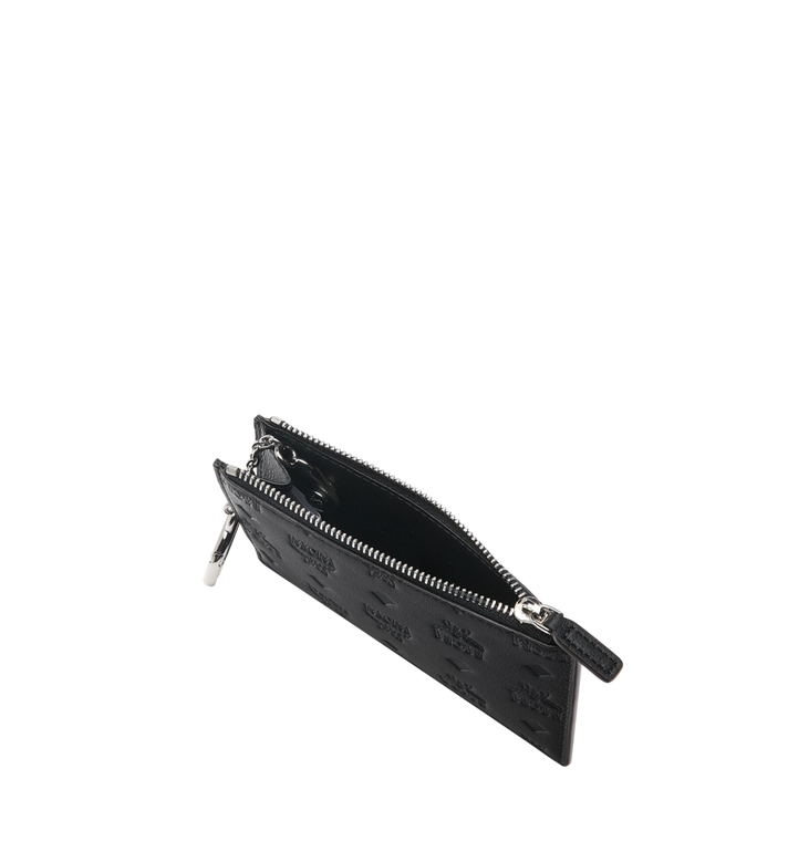 MCM 클라라 모노그램드 레더 미니 키 파우치 Black MYZ9SKM44BK001 Alternate View 4