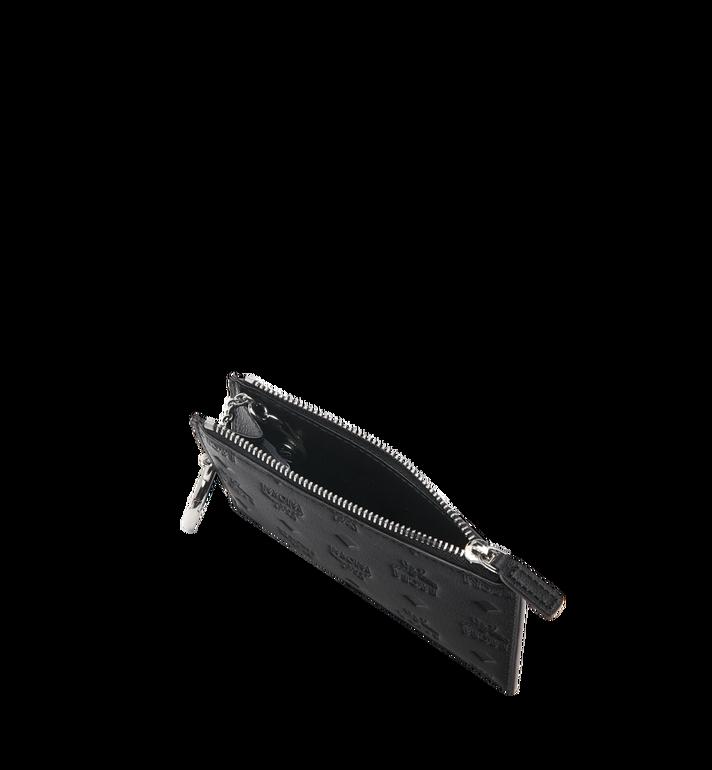 MCM Key Pouch in Monogram Leather Black MYZ9SKM44BK001 Alternate View 4