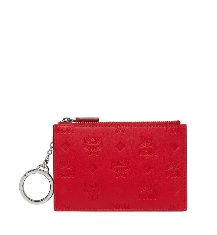 MCM Key Pouch in Monogram Leather AlternateView