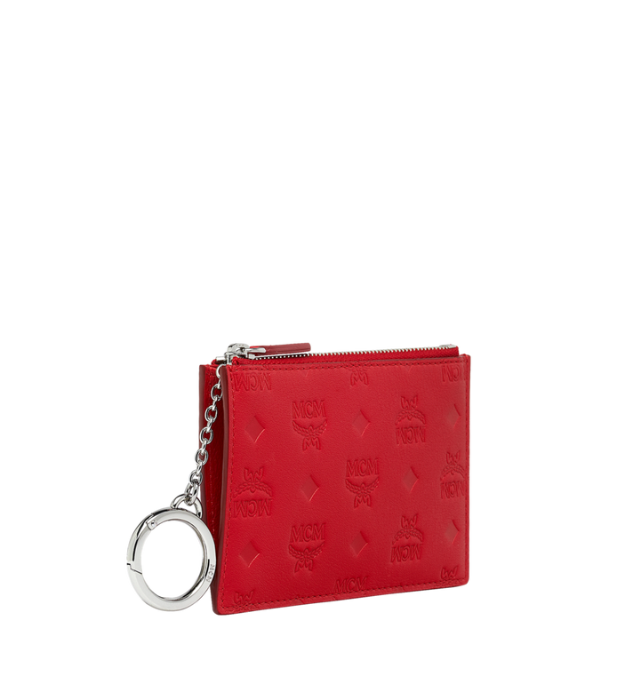 MCM Key Pouch in Monogram Leather Alternate View 2