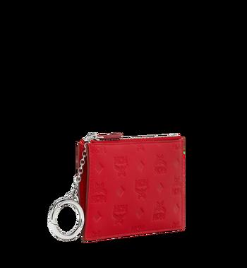 MCM Key Pouch in Monogram Leather MYZ9SKM44RJ001 AlternateView2
