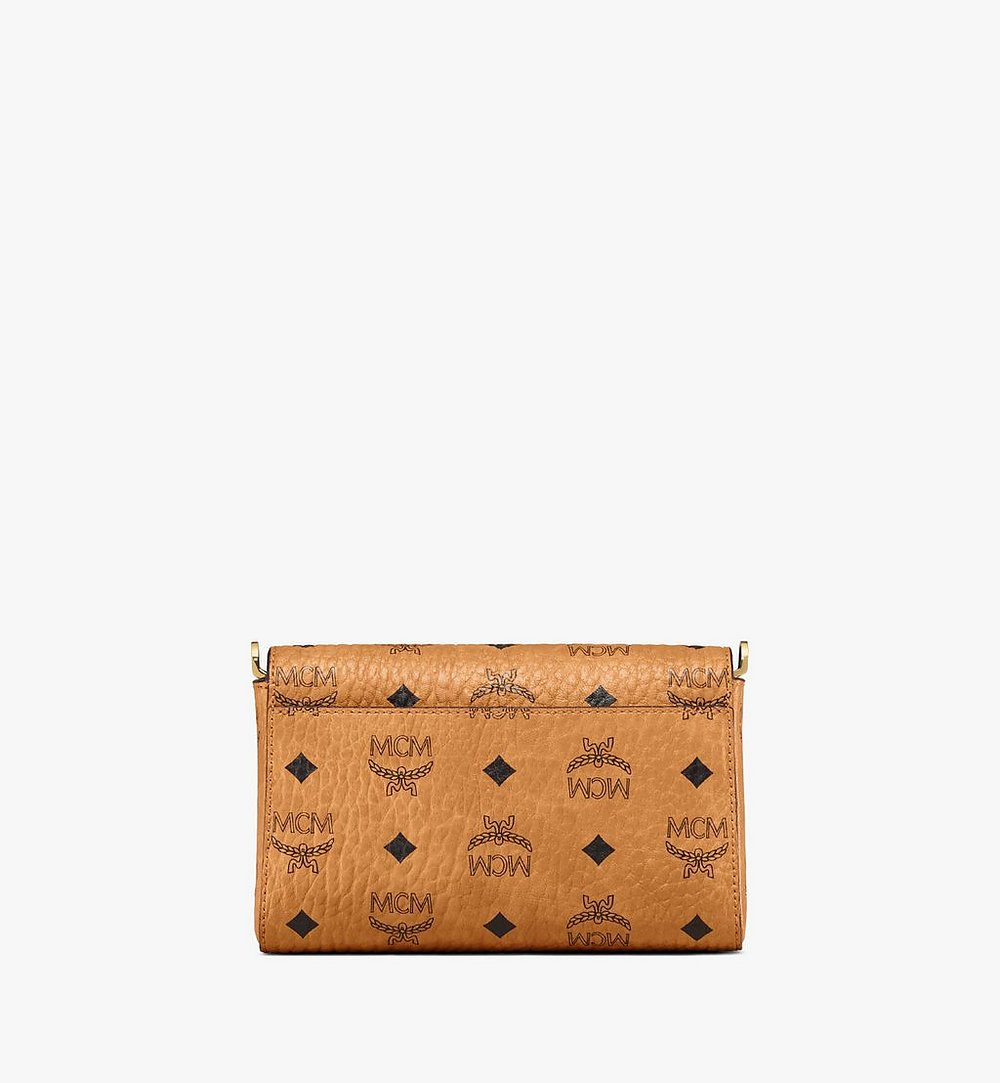 MCM Millie Flap Crossbody-Tasche in Visetos Cognac MYZ9SME04CO001 Noch mehr sehen 3