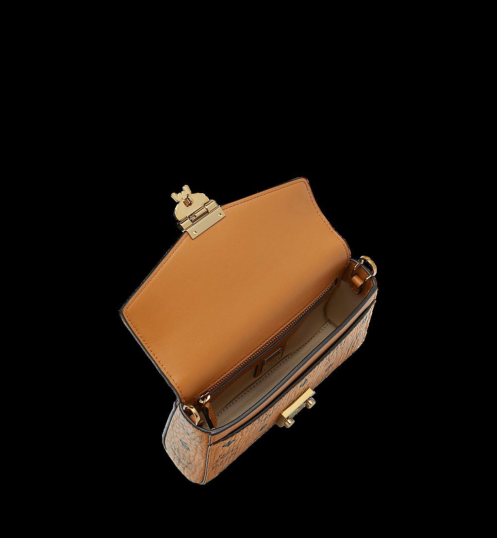 MCM Millie Flap Crossbody-Tasche in Visetos Cognac MYZ9SME04CO001 Noch mehr sehen 4