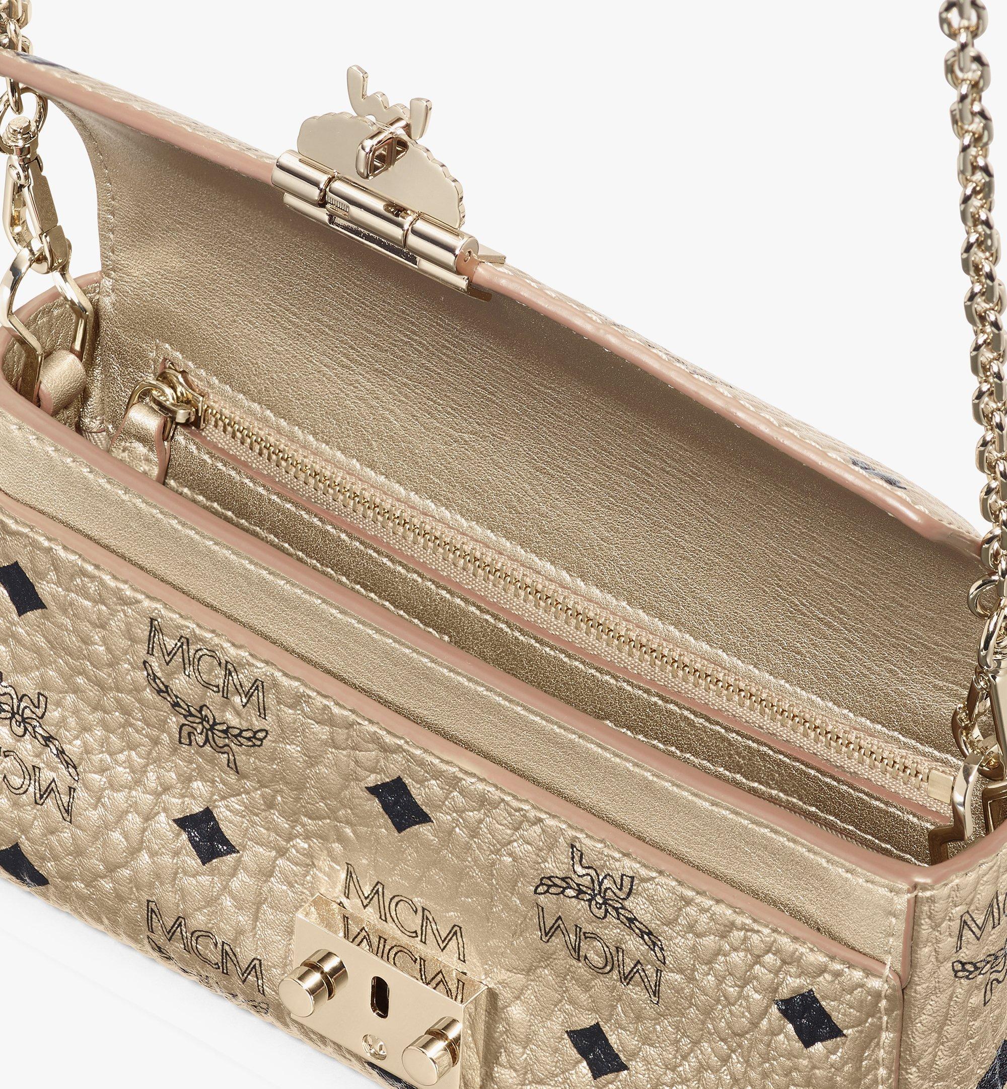 Small Millie Crossbody in Visetos Gold | MCM® DE
