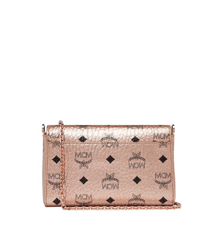 MCM Millie Flap Crossbody in Visetos Alternate View 4