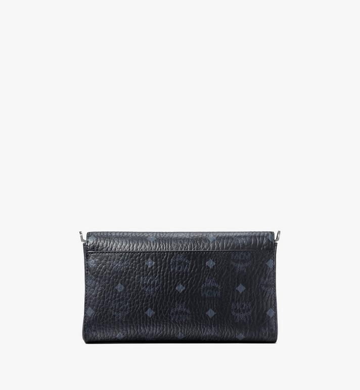 MCM Millie Flap Crossbody-Tasche in Visetos Black MYZ9SME05BK001 Alternate View 4