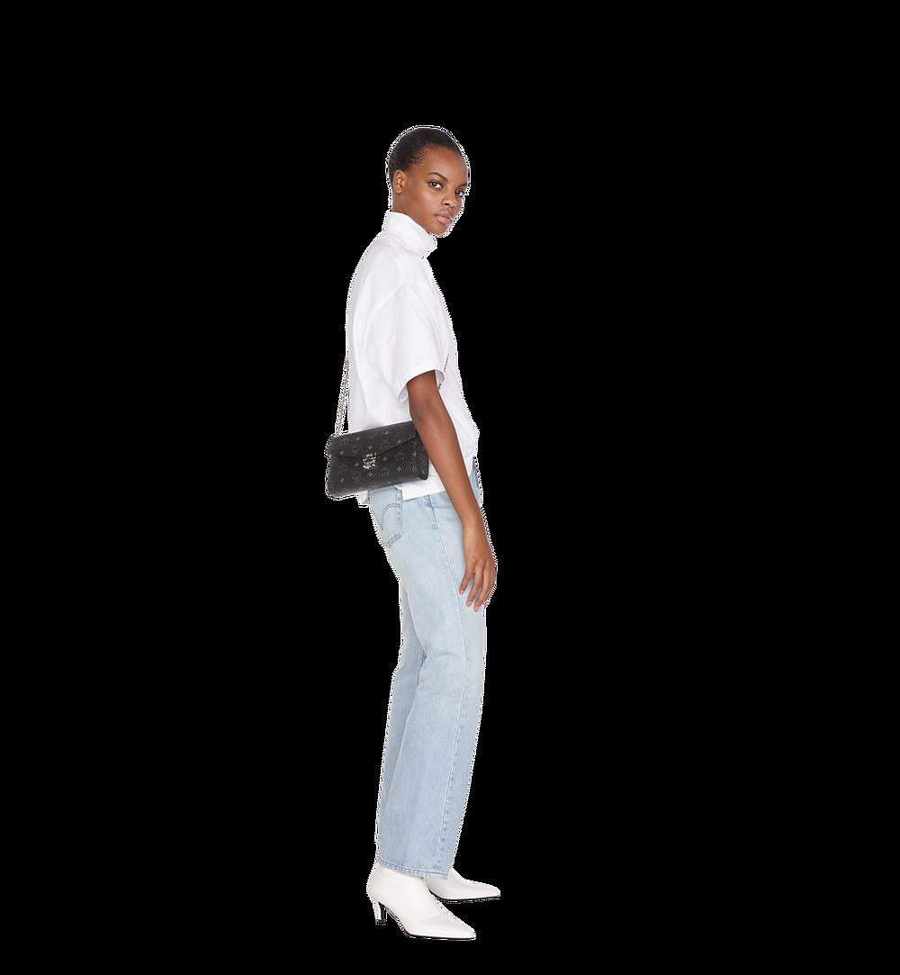 MCM Millie Flap Crossbody-Tasche in Visetos Black MYZ9SME05BK001 Noch mehr sehen 2