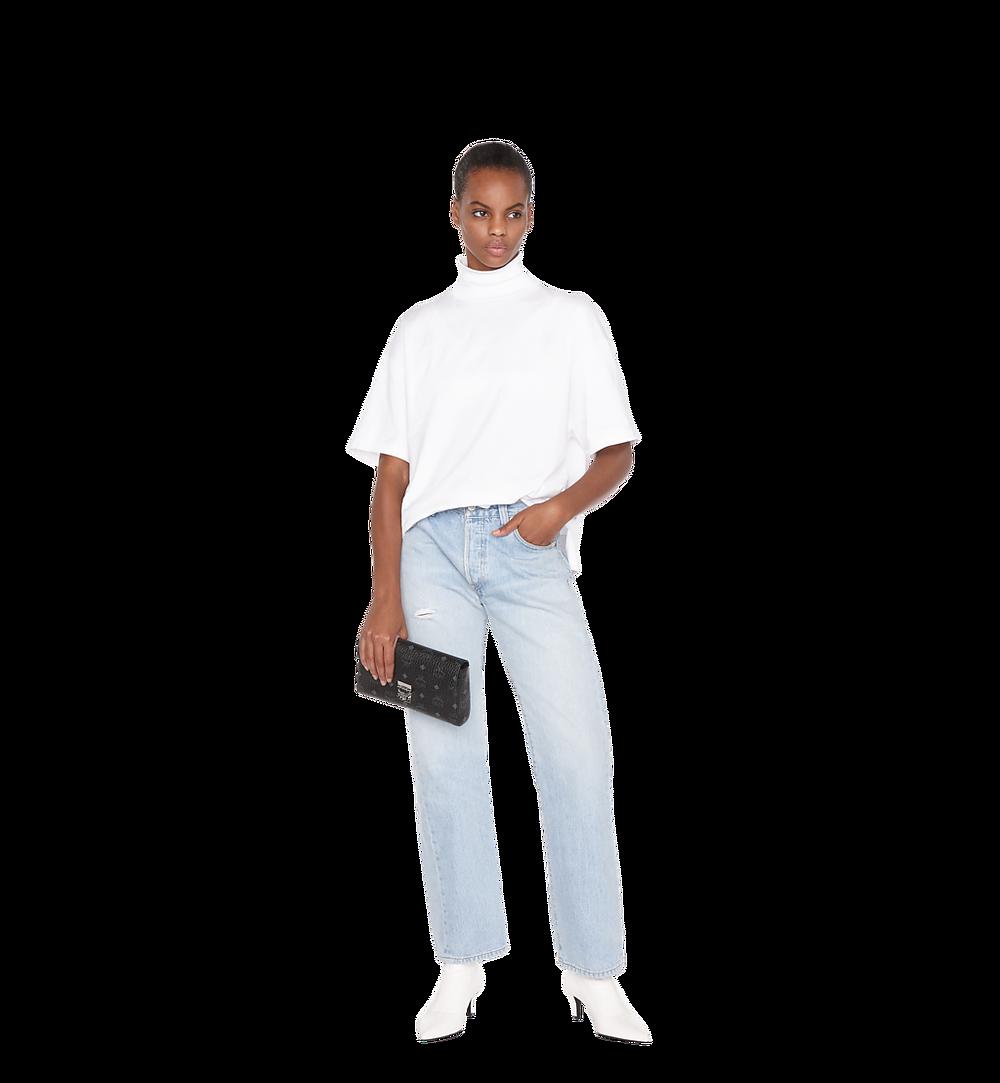 MCM Millie Flap Crossbody-Tasche in Visetos Black MYZ9SME05BK001 Noch mehr sehen 3