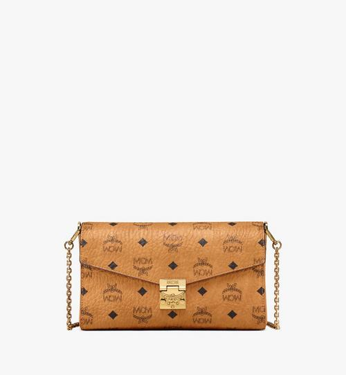 Millie Flap Crossbody-Tasche in Visetos
