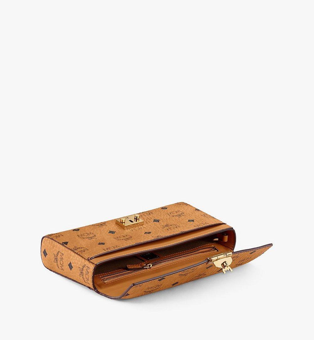 MCM Millie Flap Crossbody-Tasche in Visetos Cognac MYZ9SME05CO001 Noch mehr sehen 2