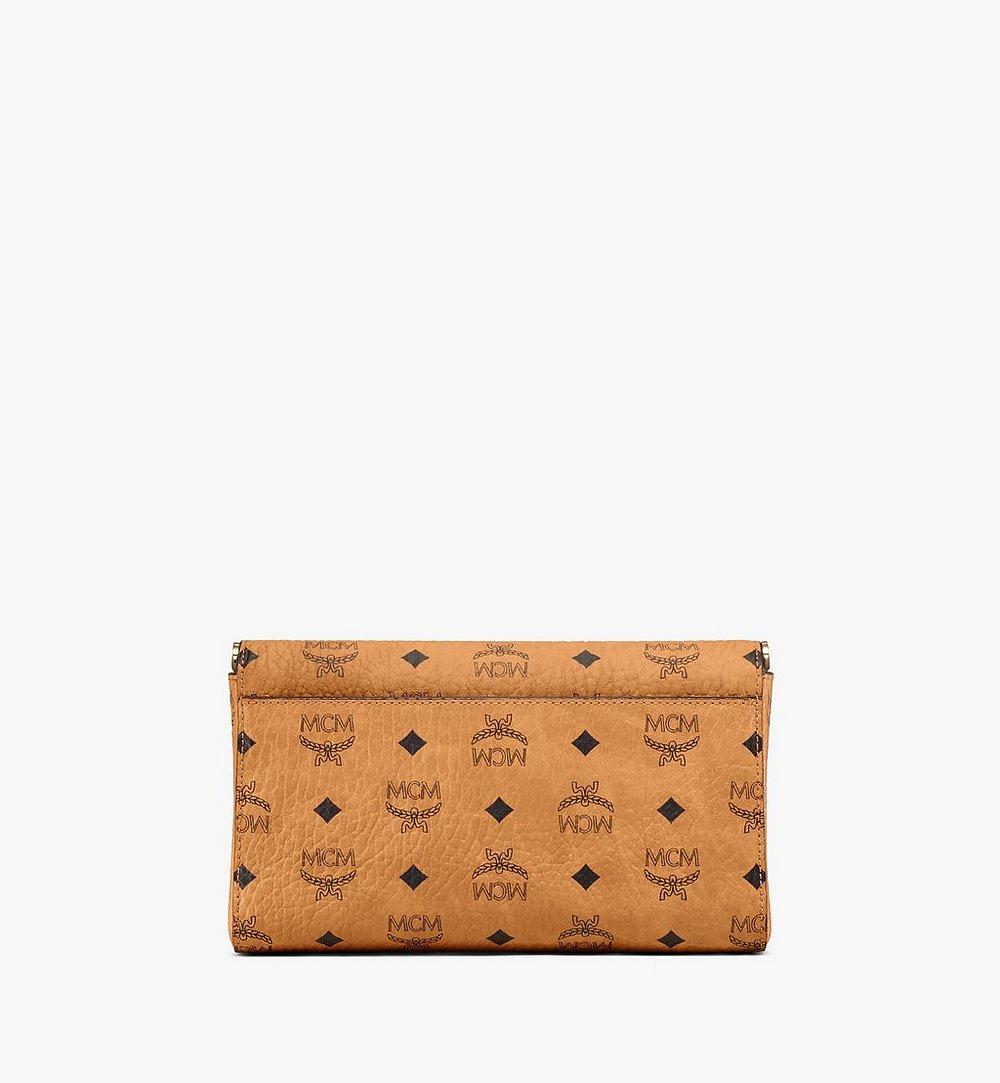 MCM Millie Flap Crossbody-Tasche in Visetos Cognac MYZ9SME05CO001 Noch mehr sehen 3