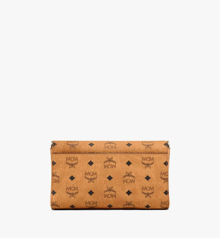 MCM Millie Flap Crossbody-Tasche in Visetos Cognac MYZ9SME05CO001 Alternate View 4
