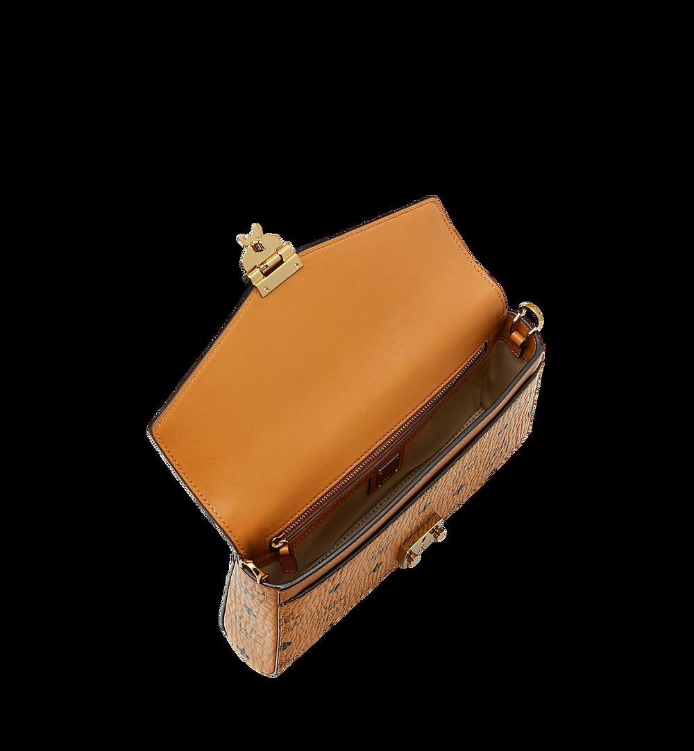 MCM Millie Flap Crossbody-Tasche in Visetos Cognac MYZ9SME05CO001 Noch mehr sehen 4