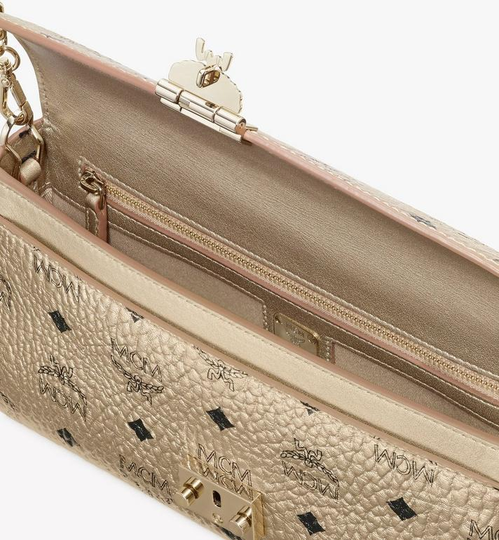 MCM Millie Crossbody in Visetos Gold MYZ9SME05T1001 Alternate View 3