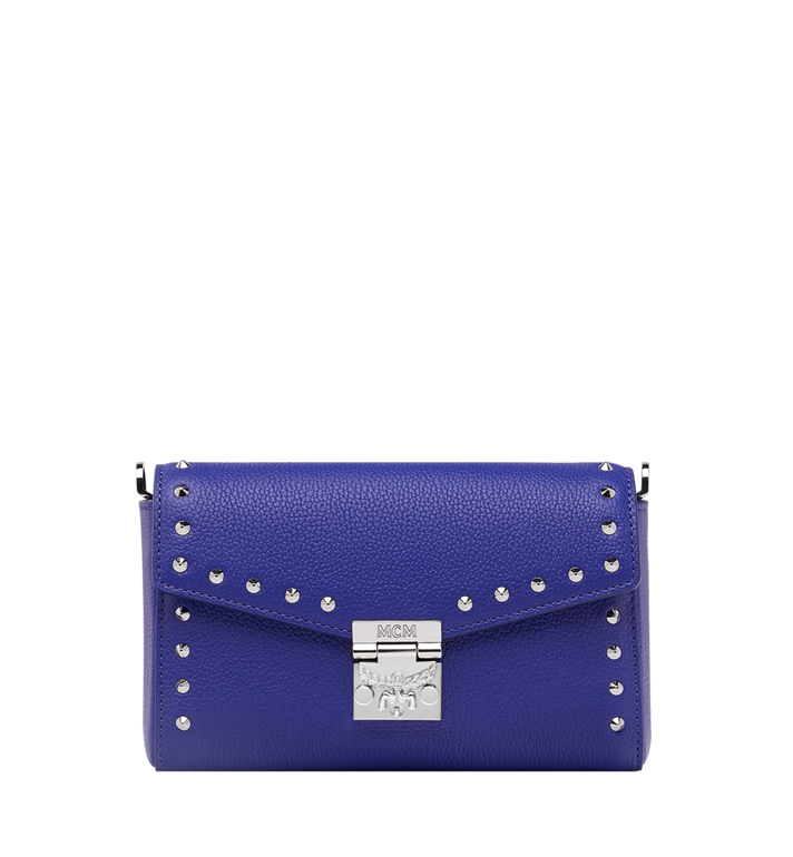 MCM Millie Flap Crossbody-Tasche aus Studded Outline Leder Alternate View