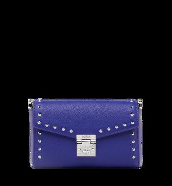 MCM Millie Flap Crossbody-Tasche aus Studded Outline Leder MYZ9SME15HG001 AlternateView