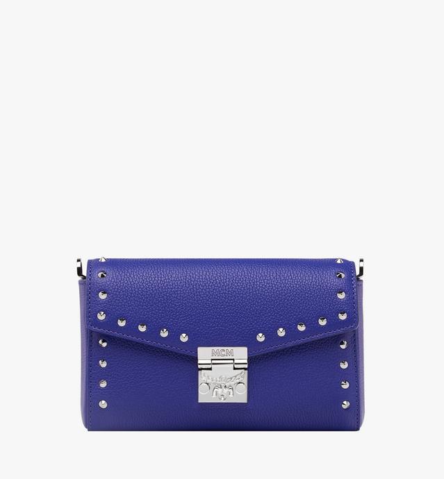 Millie Flap Crossbody in Studded Outline Leather