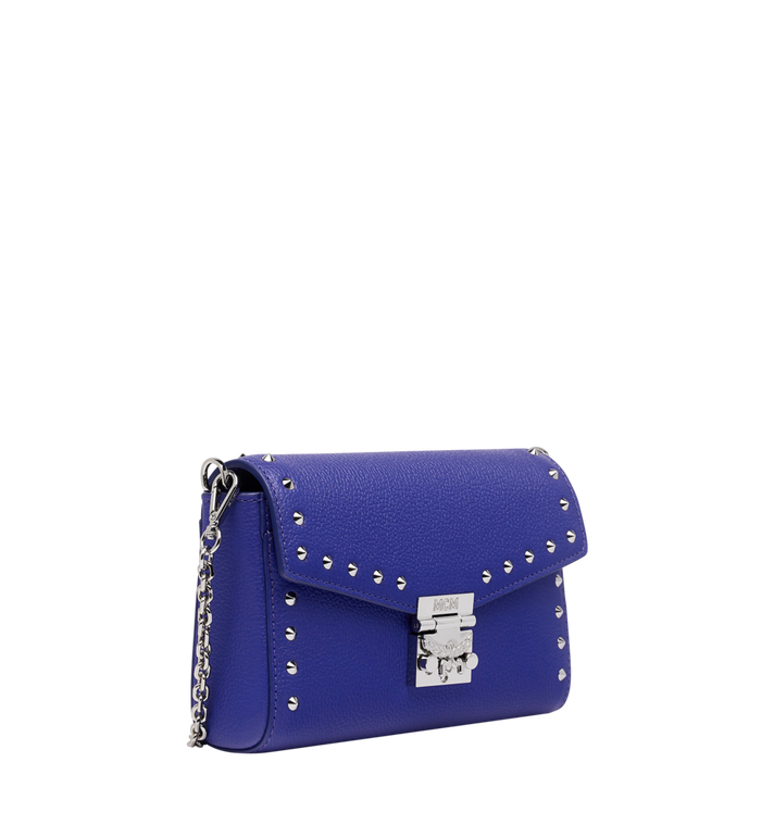 MCM Millie Flap Crossbody-Tasche aus Studded Outline Leder MYZ9SME15HG001 AlternateView2