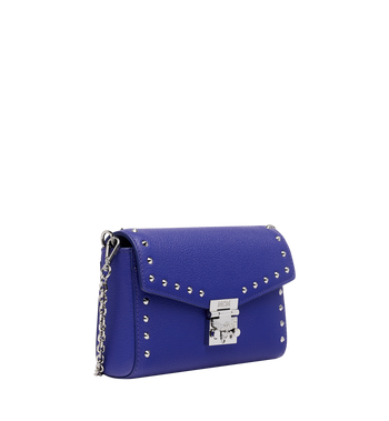 MCM Millie Flap Crossbody in Studded Outline Leather Alternate View 2