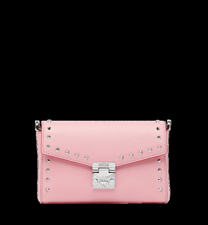 MCM Millie Flap Crossbody-Tasche aus Studded Outline Leder Alternate View