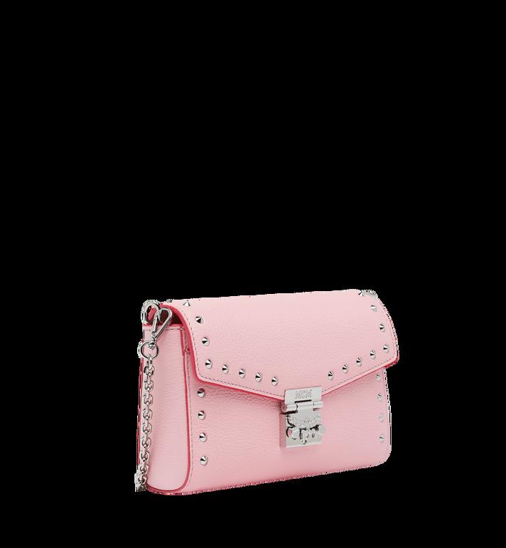 MCM Millie Flap Crossbody-Tasche aus Studded Outline Leder MYZ9SME15QB001 AlternateView2