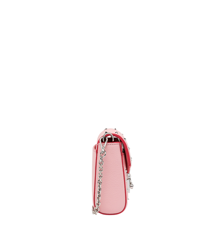 MCM Millie Flap Crossbody-Tasche aus Studded Outline Leder MYZ9SME15QB001 AlternateView3