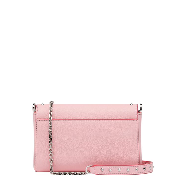 MCM Millie Flap Crossbody-Tasche aus Studded Outline Leder Alternate View 4