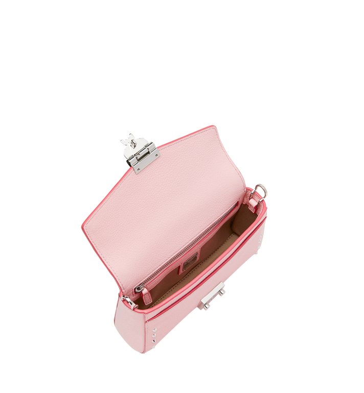 MCM Millie Flap Crossbody-Tasche aus Studded Outline Leder Alternate View 5
