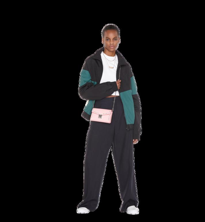 MCM Millie Flap Crossbody-Tasche aus Studded Outline Leder Alternate View 7