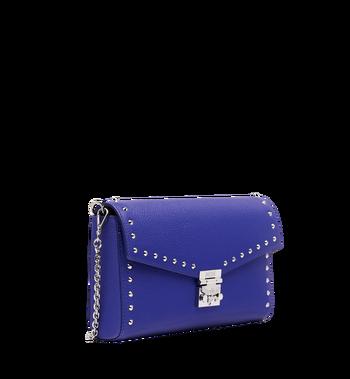 MCM Millie Flap Crossbody-Tasche aus Studded Outline Leder Alternate View 2