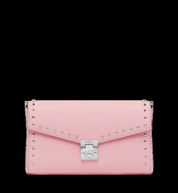 MCM Millie Flap Crossbody-Tasche aus Studded Outline Leder MYZ9SME16QB001 AlternateView