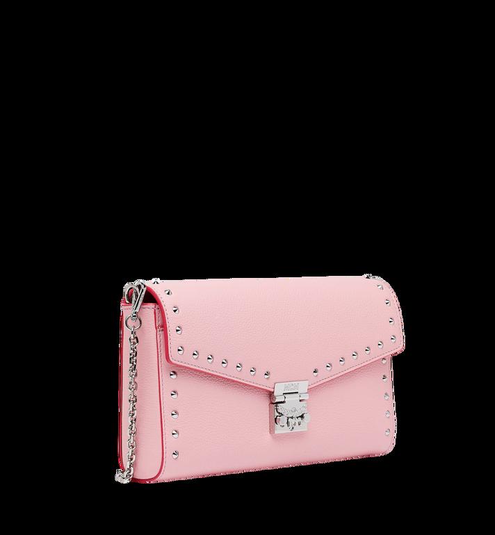 MCM Millie Flap Crossbody-Tasche aus Studded Outline Leder MYZ9SME16QB001 AlternateView2