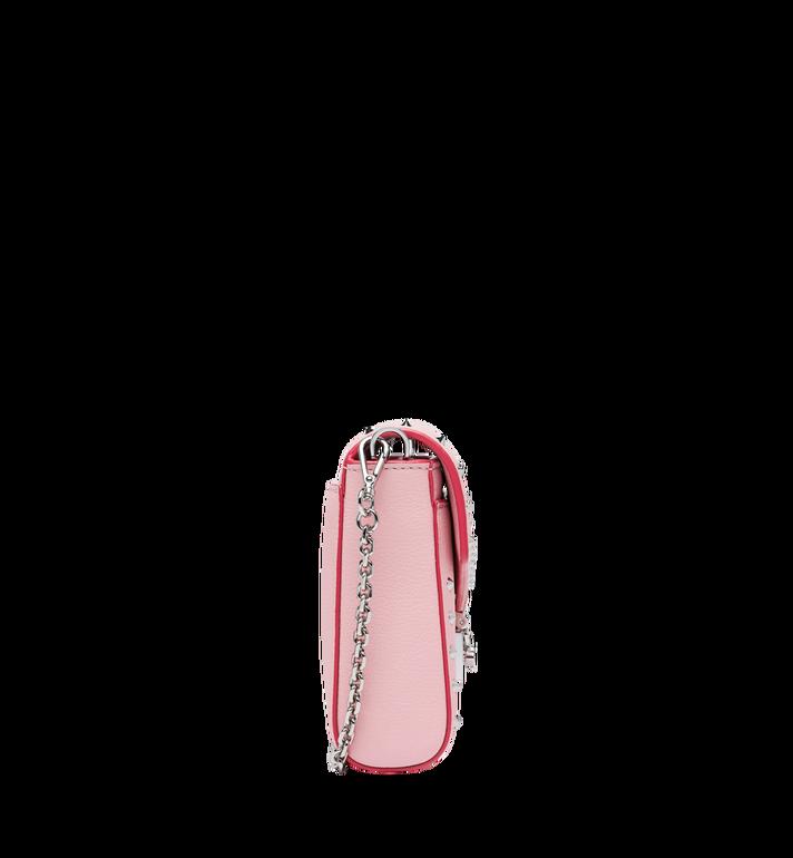 MCM Millie Flap Crossbody-Tasche aus Studded Outline Leder MYZ9SME16QB001 AlternateView3
